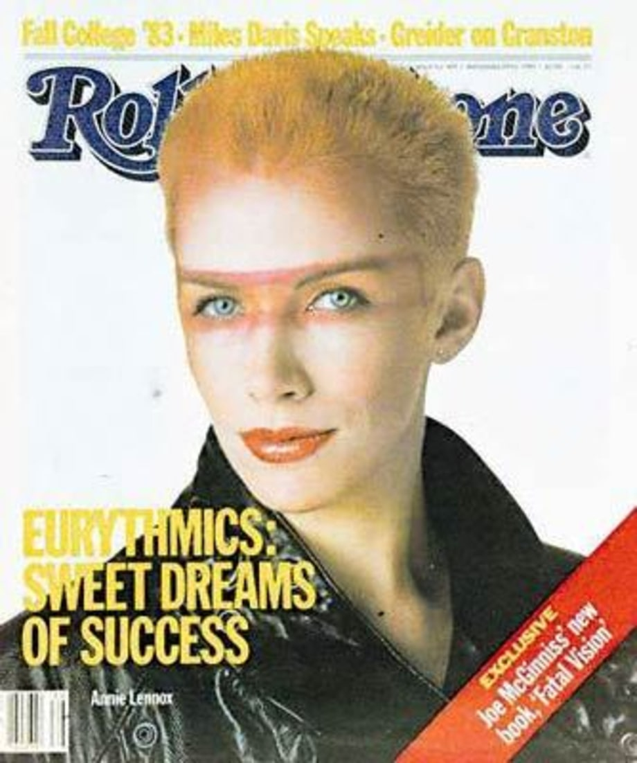 RS405: Annie Lennox   1983 Rolling Stone Covers   Rolling ...