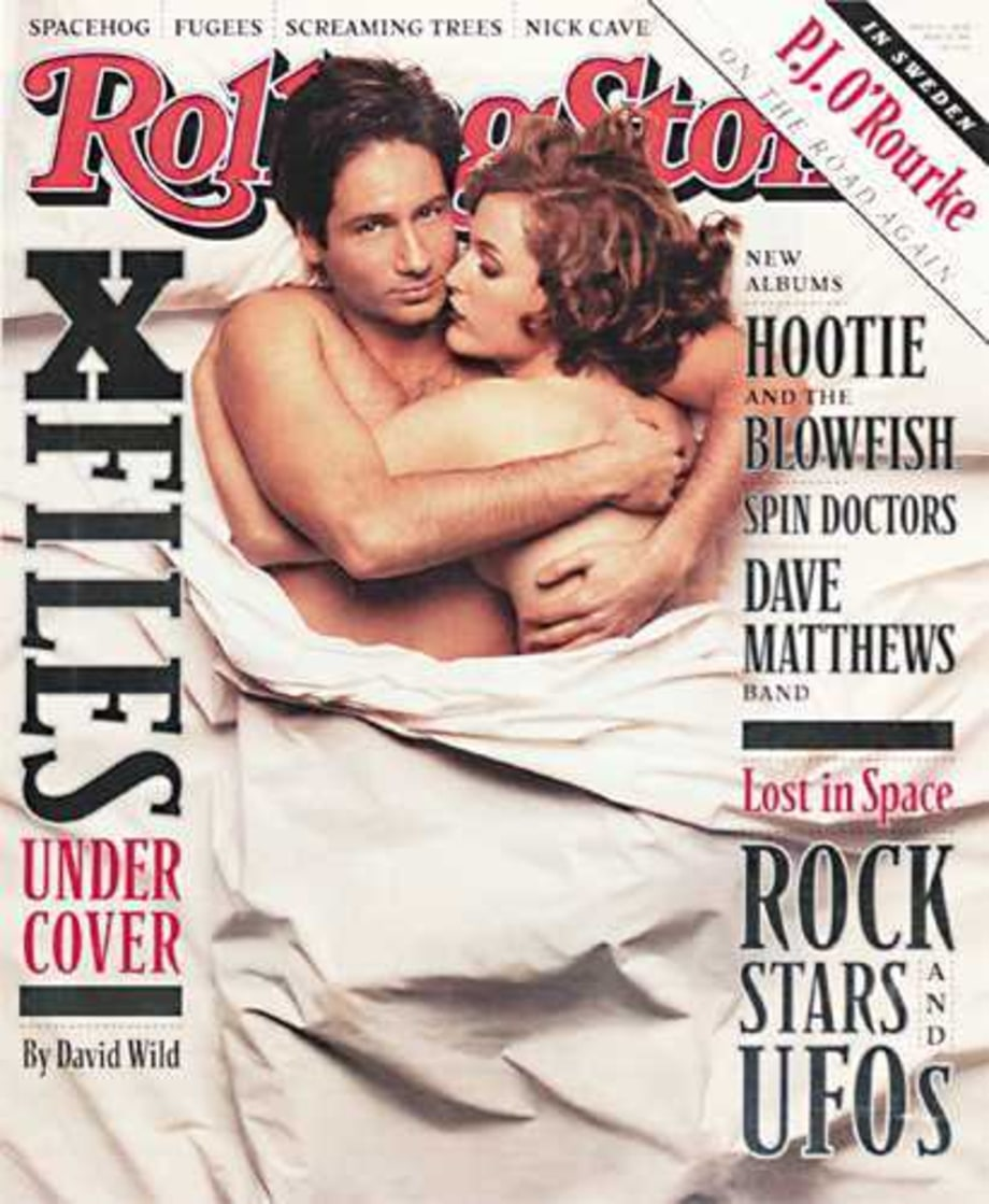 RS734: The X-Files: David Duchovny & Gillian Ander