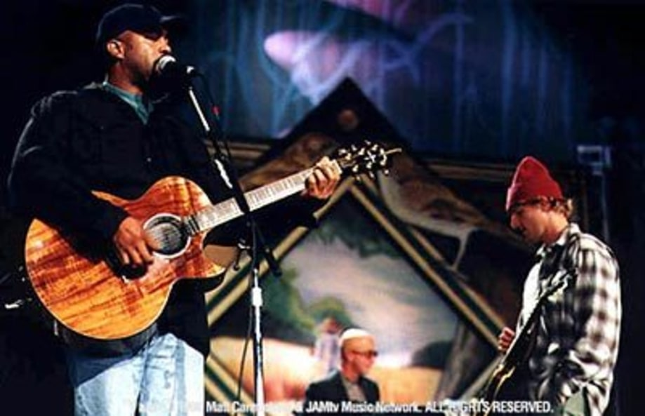 Hootie and the Blow Fish at Farm Aid '98 in Tinley Pk, IL