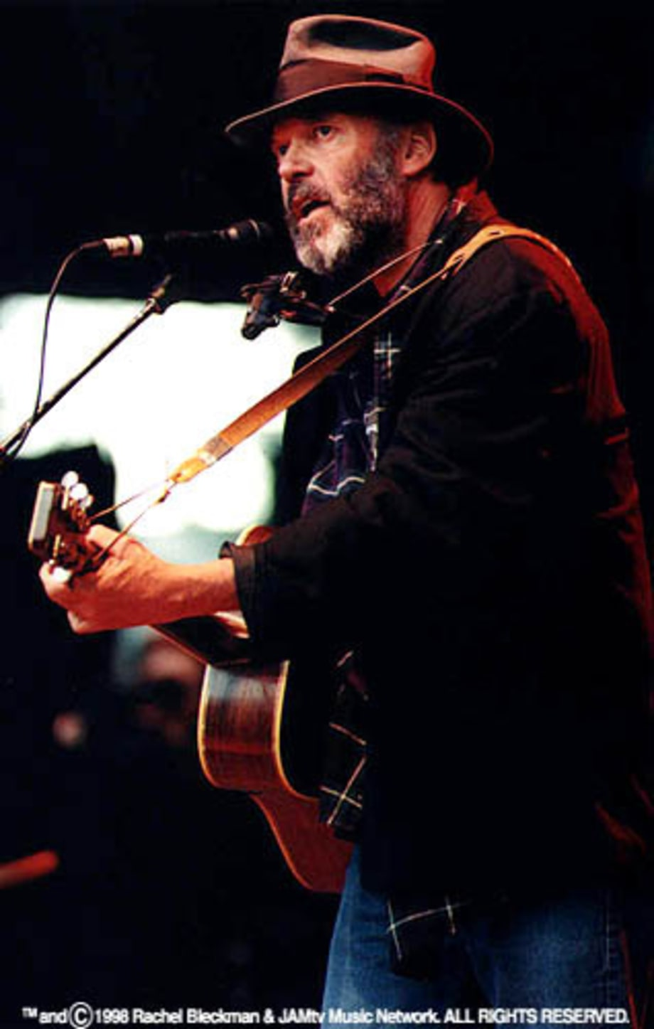 Neil Young at the Bridge School Benefit '98