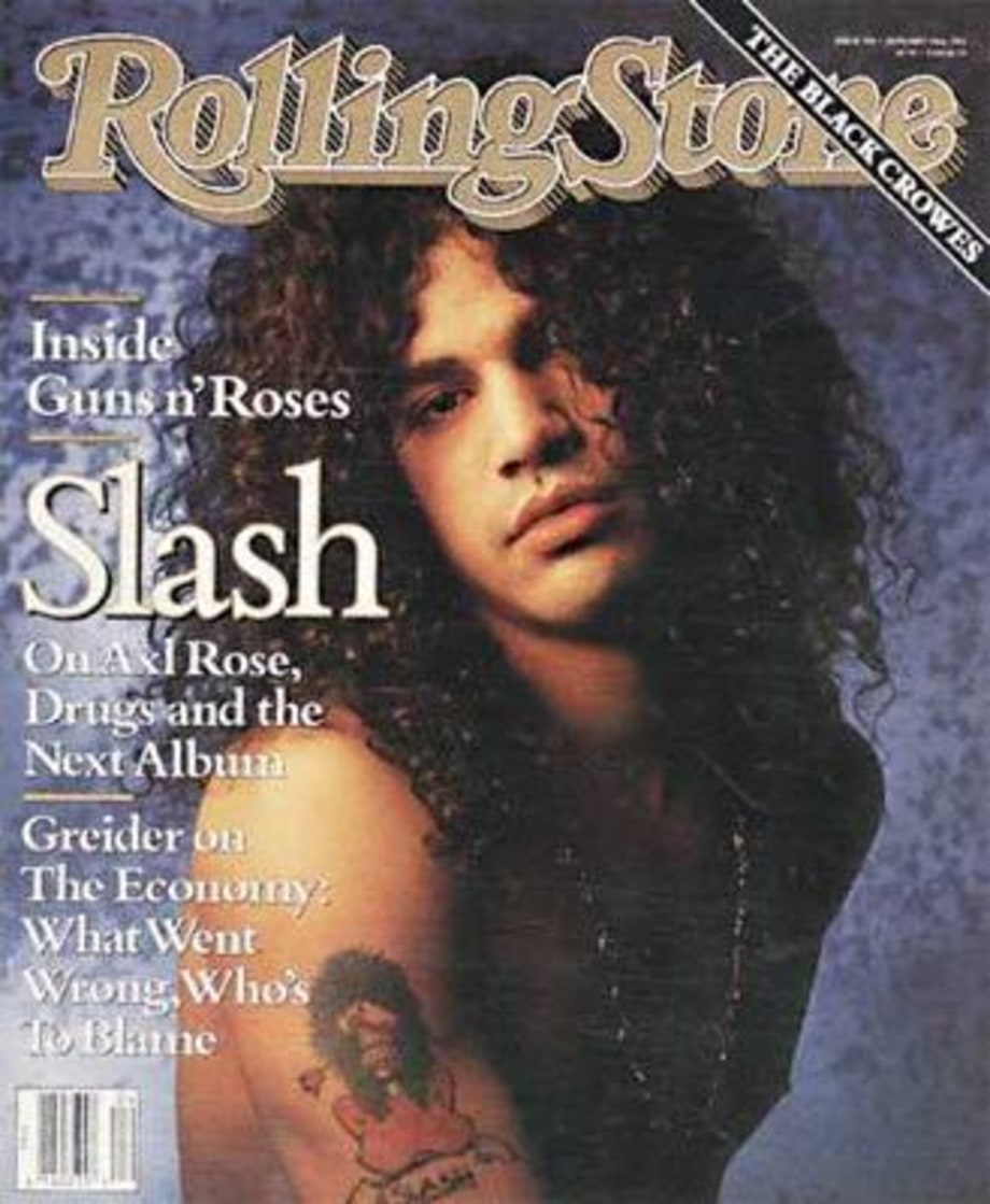 RS596: Slash of Guns n' Roses