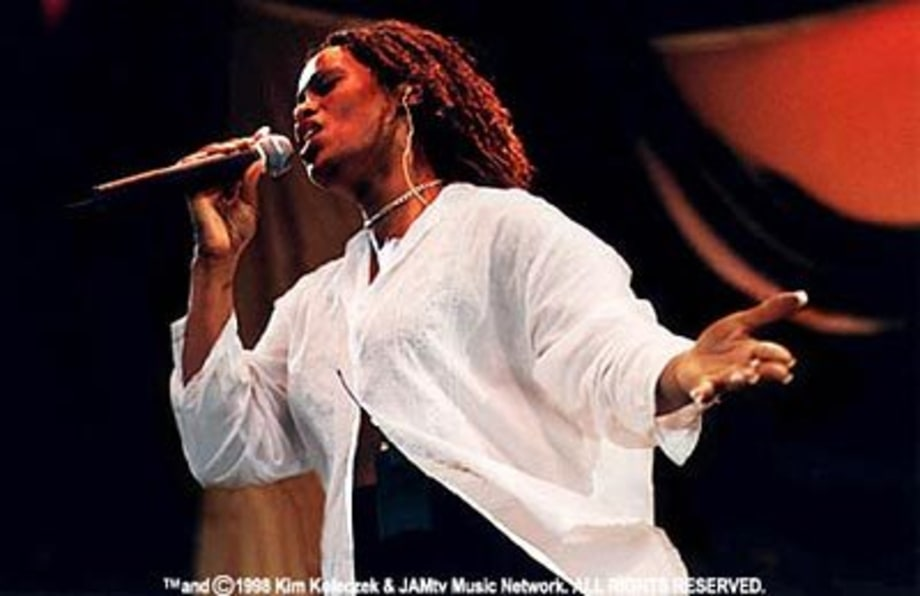 Des'ree at Lilith Fair in Tinley Pk, IL
