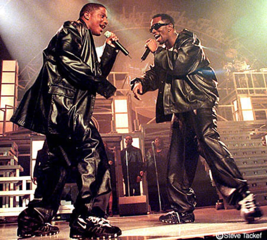 Mase and Puff Daddy at the Worchester Centrum in Worchester, MA