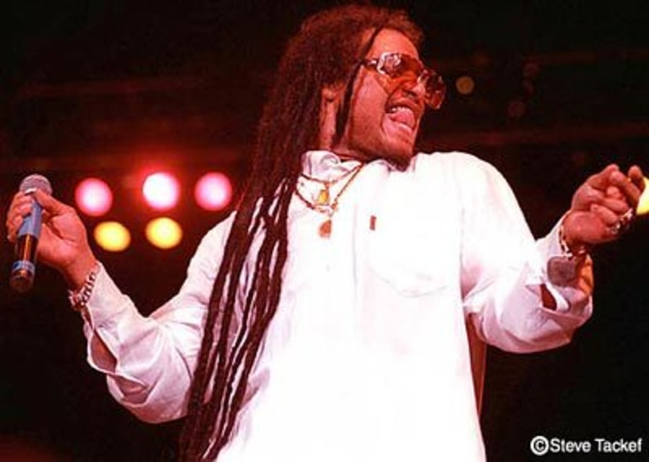 Maxi Priest at the Fleet Center in Boston, MA