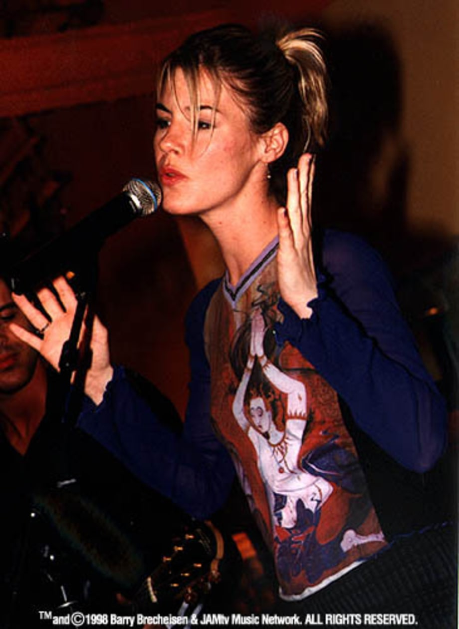 Jennifer Paige at the Sam Goody in Chicago, IL