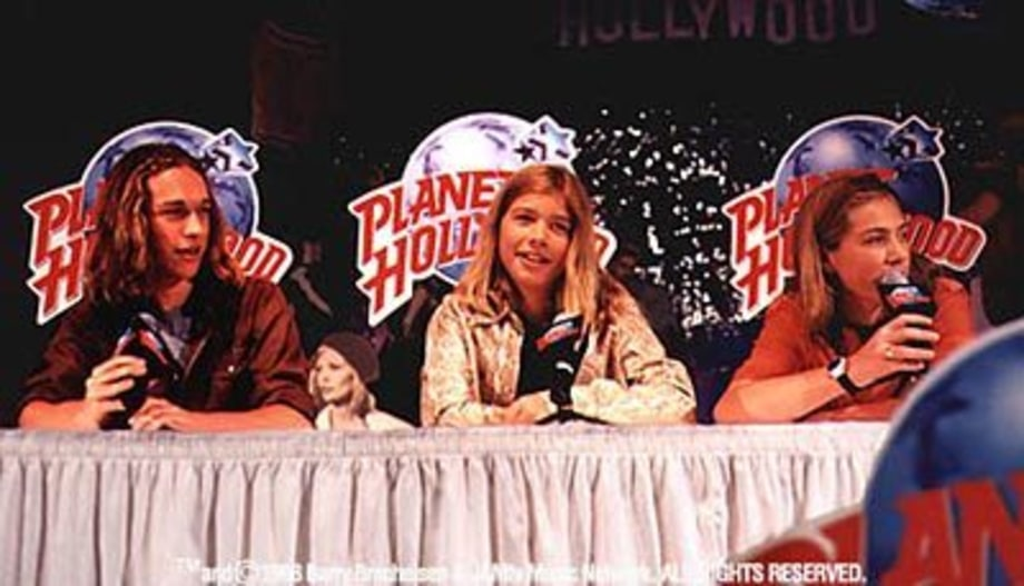 Hanson press conference at Planet Hollywood, Chicago, IL