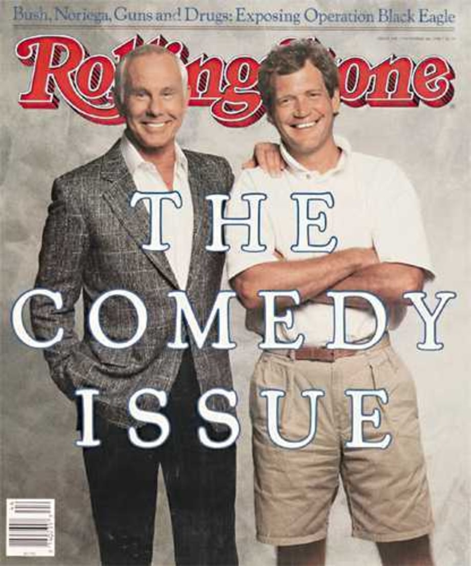 RS538: Johnny Carson & David Letterman