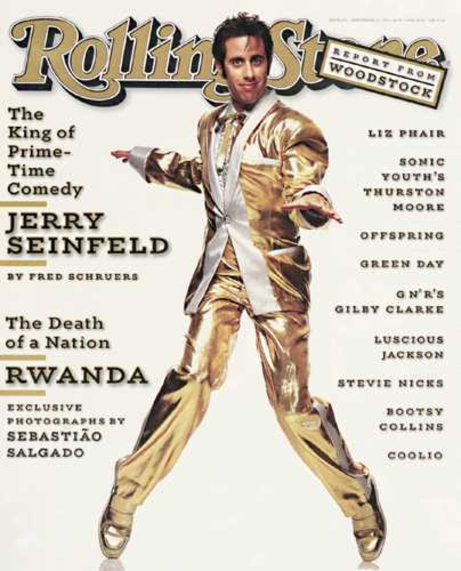RS691: Jerry Seinfeld as Early Elvis & Fat Elvis+E