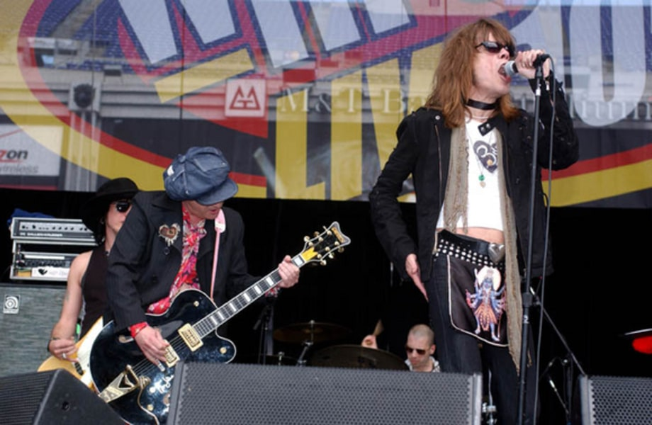 New York Dolls 1 - WHFS HFStival 2005, Baltimore, MD 5/14/05 large