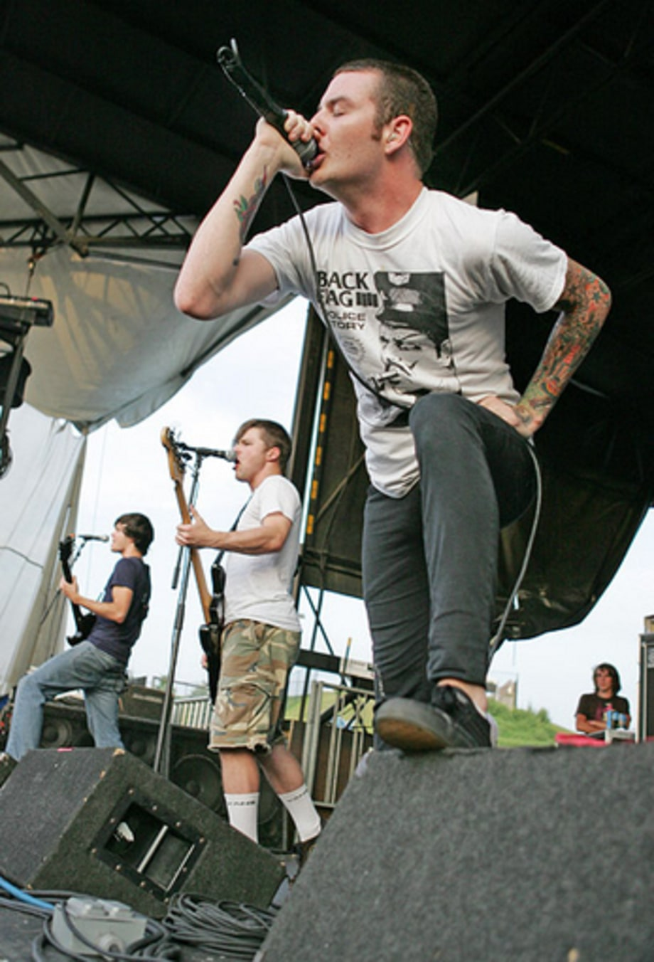 Senses Fail 2 - Warped Tour, Noblesville, IN 7/20/05 large