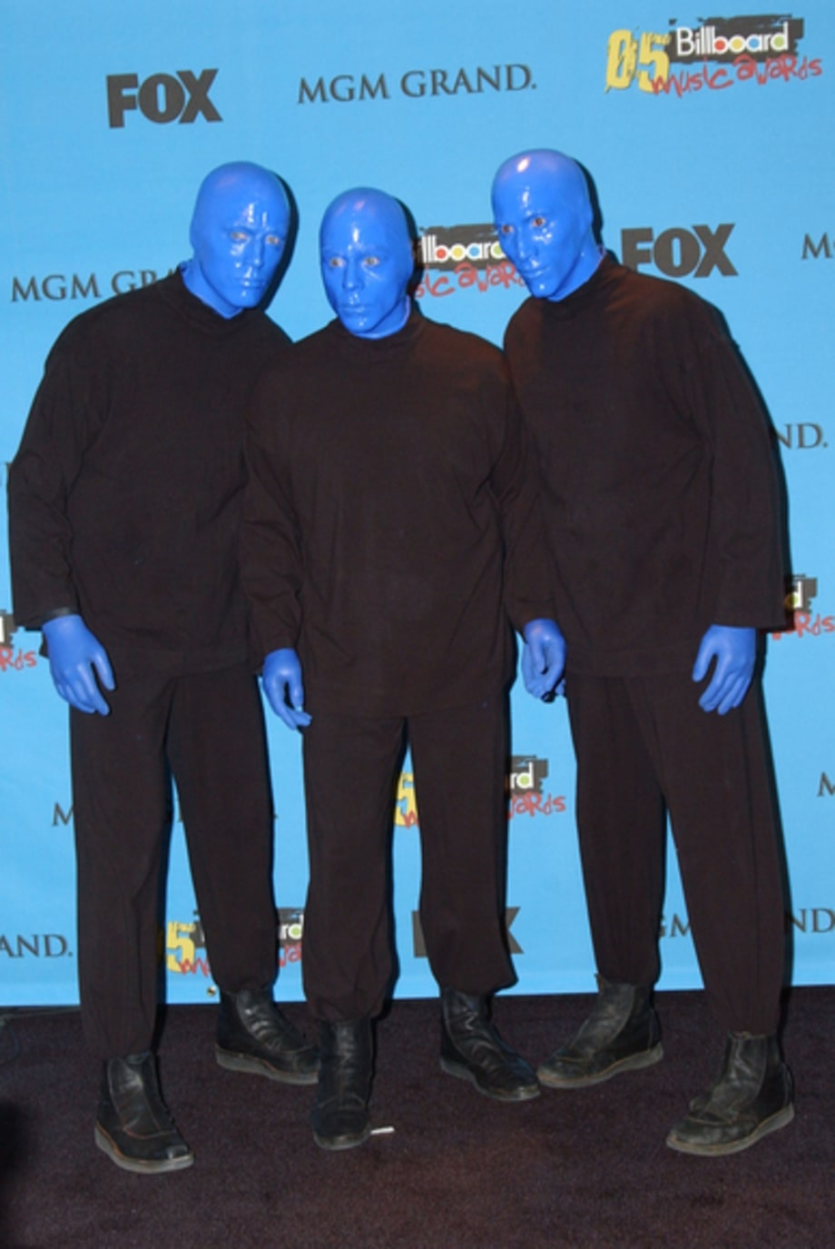 Blue Man Group - 2005 Billboard Awards, Las Vegas, NV 12/6/05
