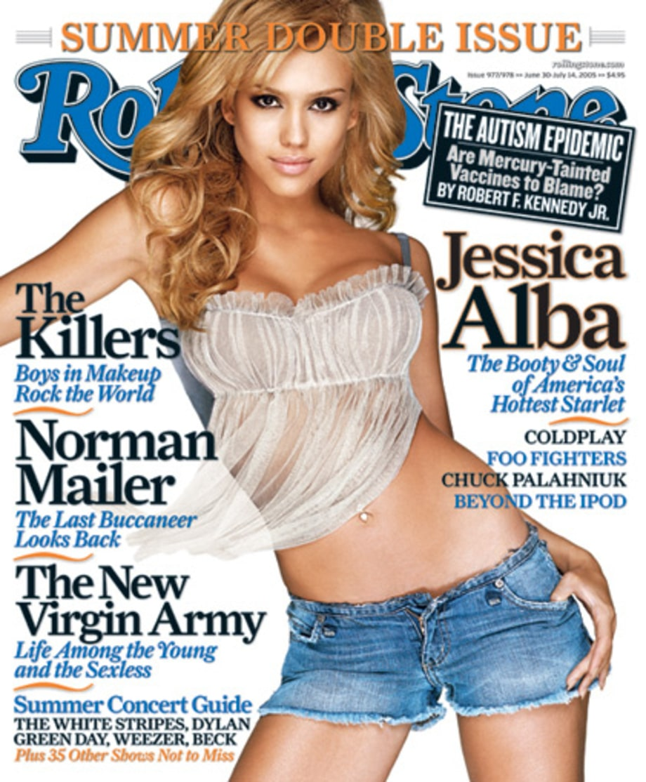 Jessica Alba - RS 977/978 (June 30-July 14, 2005) large
