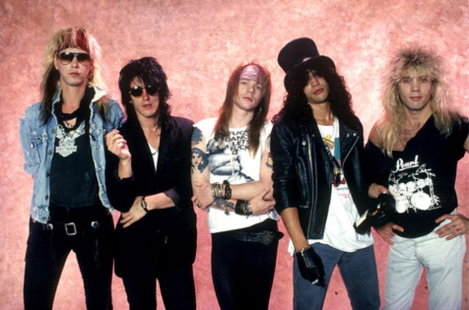 Guns N Roses Gallery Portrait Los Angeles 1987 Guns N
