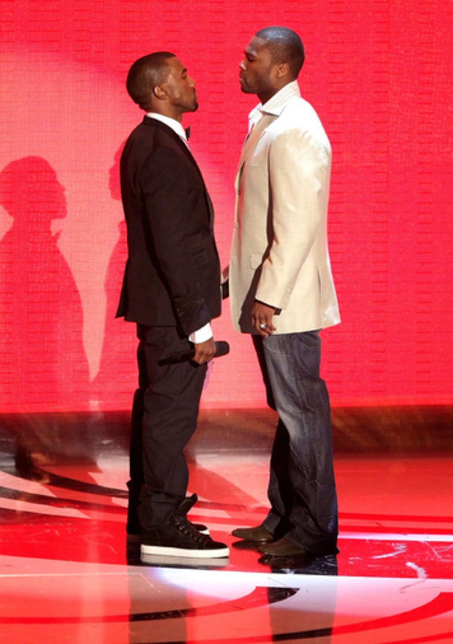 Video Music Awards 2007: 50 Cent n Kanye