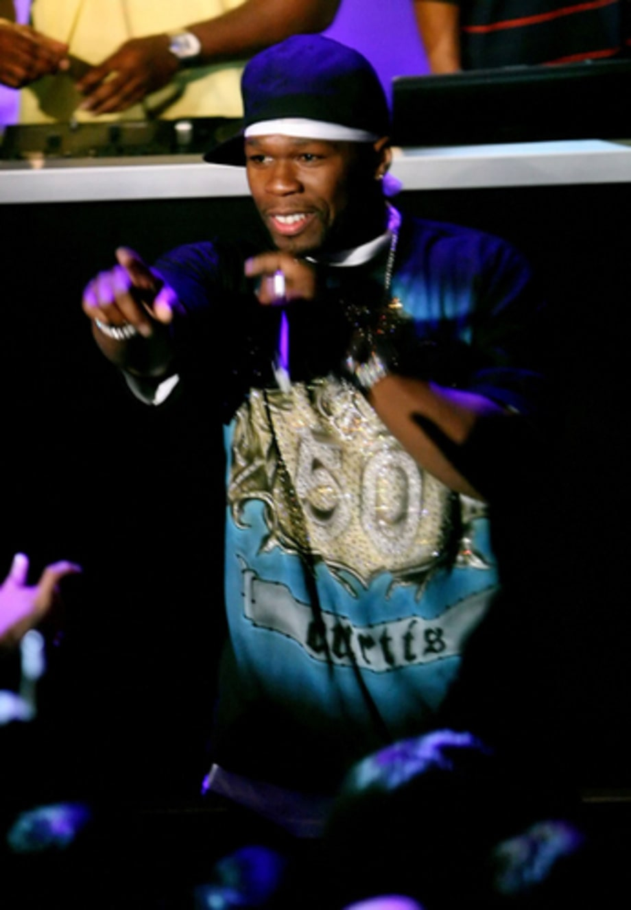 Video Music Awards 2007: 50 Cent performs