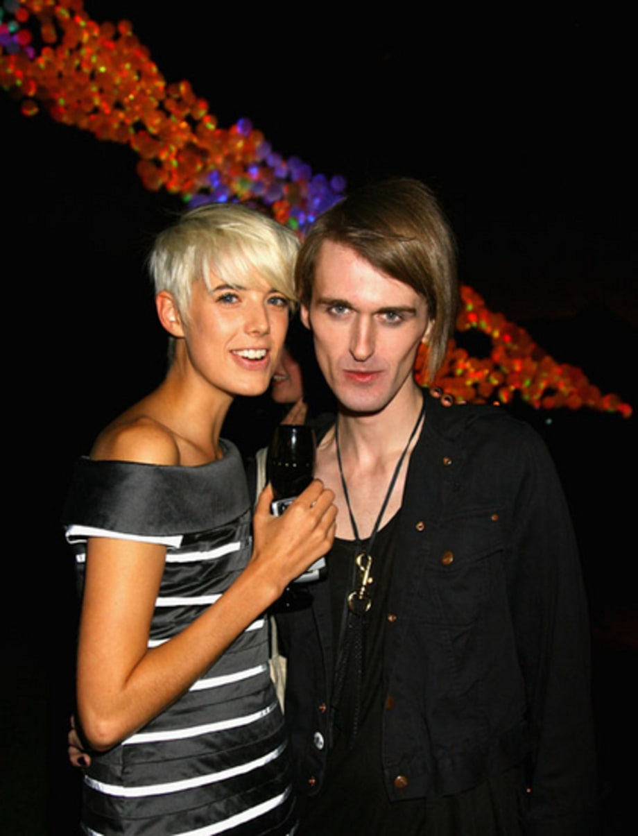 Agyness Deyn: Ag and Gareth (sep16)
