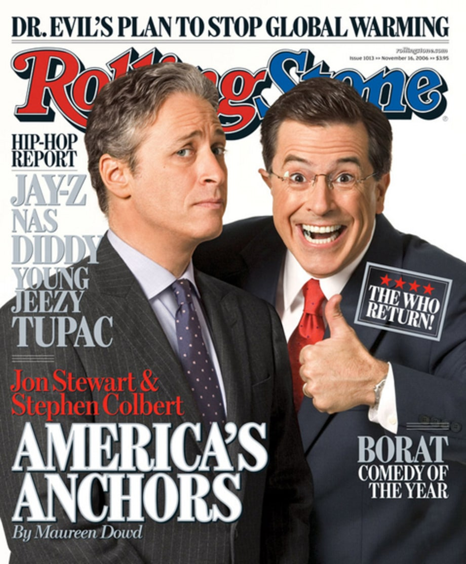 Jon Stewart & Stephen Colbert - RS 1013 (November 16, 2006)