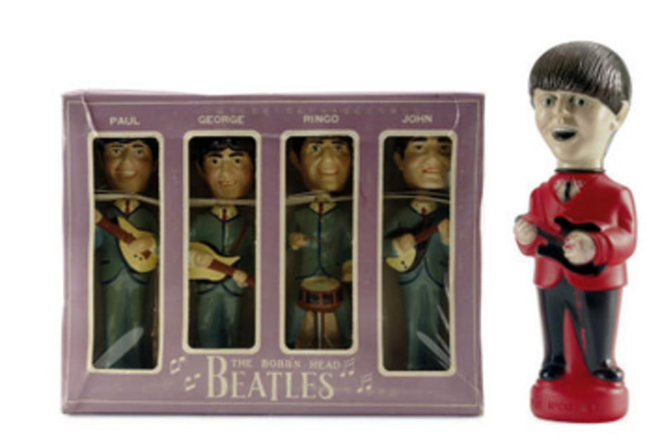 Christies: Beatles Bobbleheads