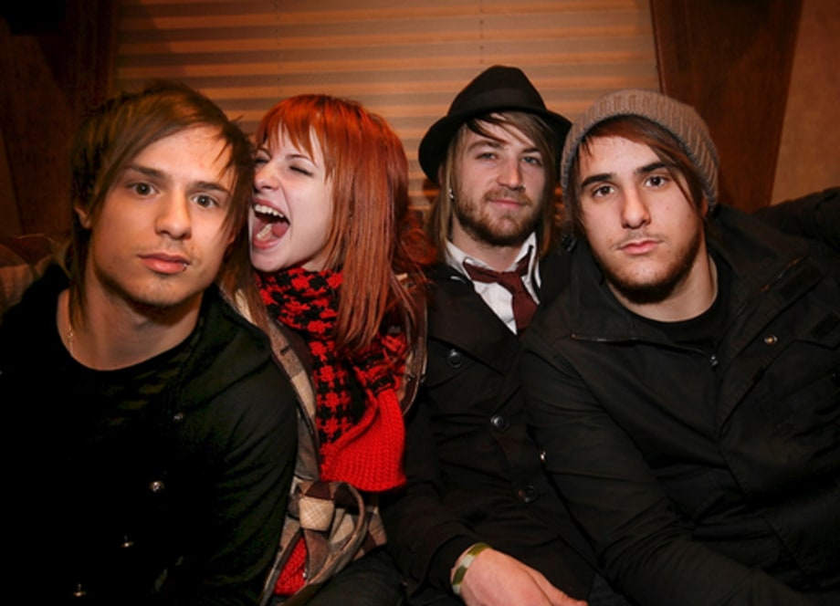Paramore Bus Tour: Band on Couch