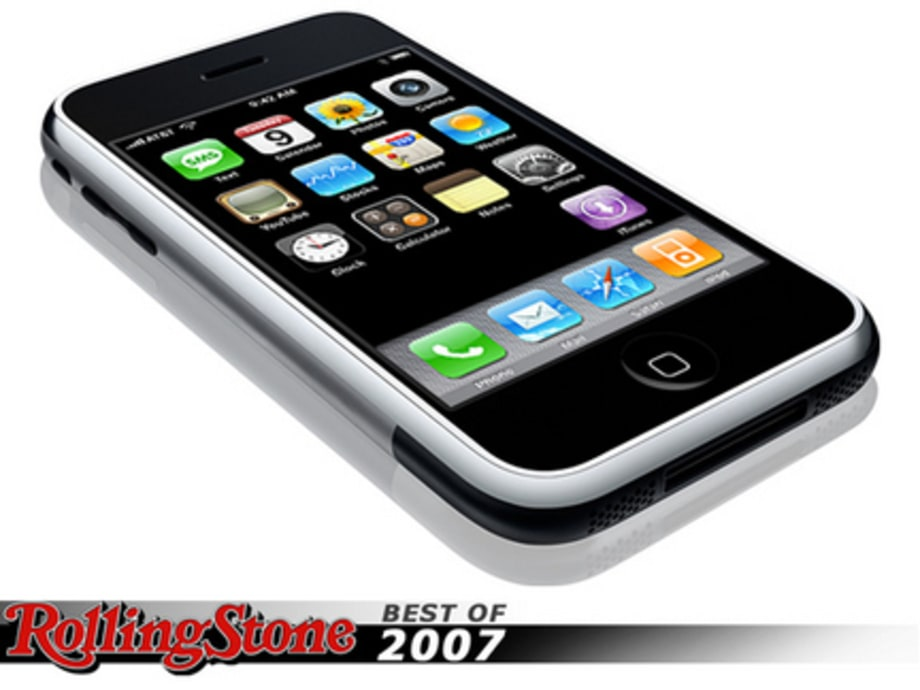 BEST TECH GADGETS OF 2007 : iPhone