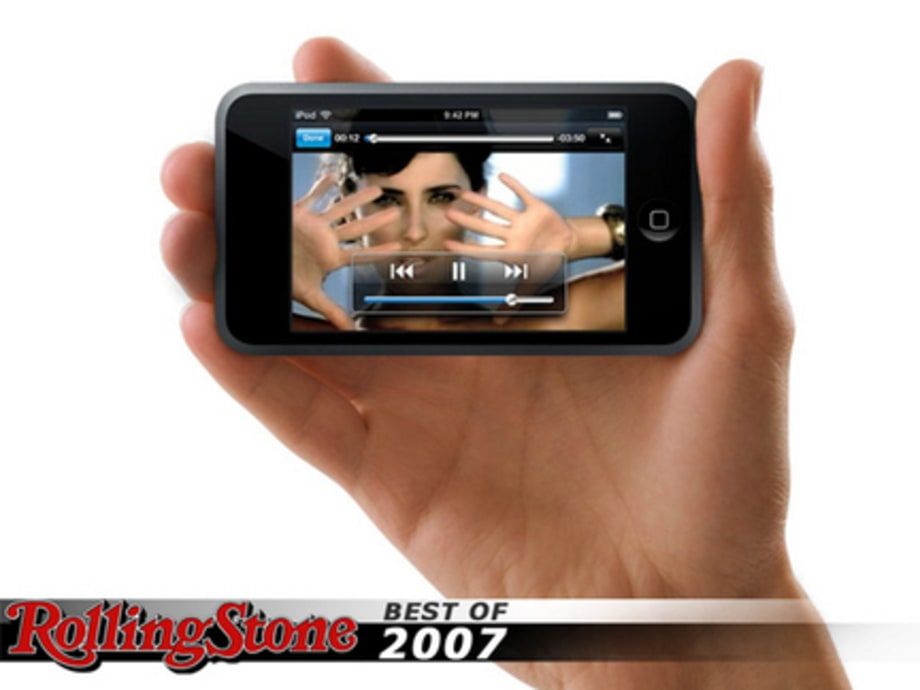 BEST TECH GADGETS OF 2007 : Ipod Touch
