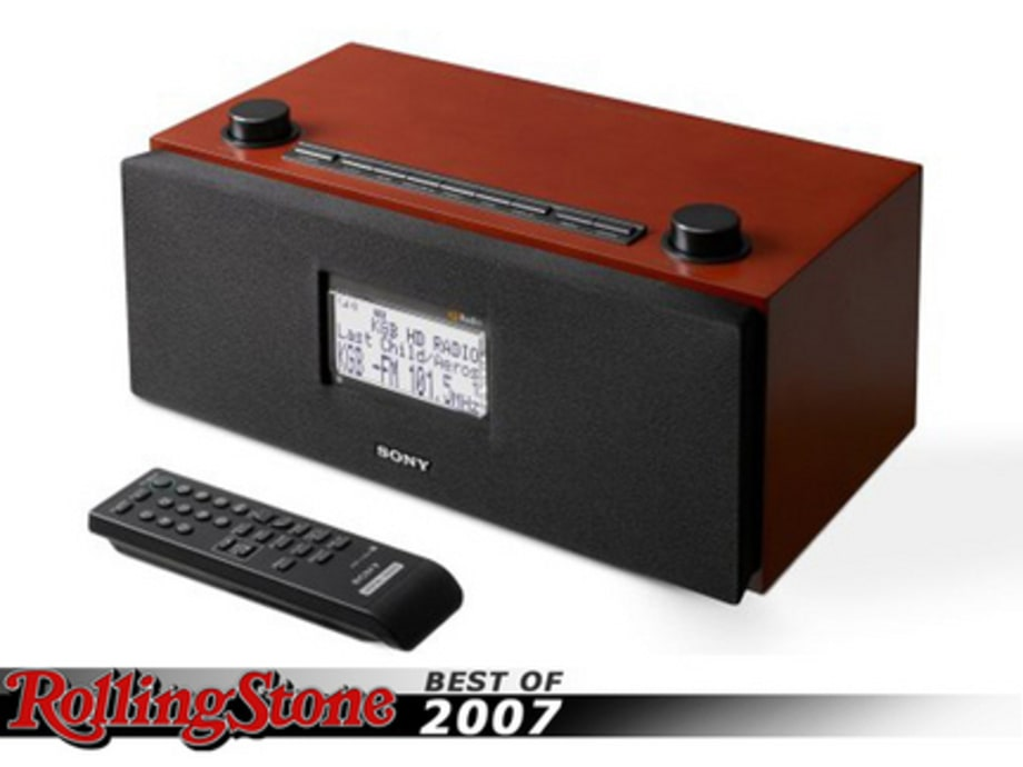 BEST TECH GADGETS OF 2007 : Sony HD Radio
