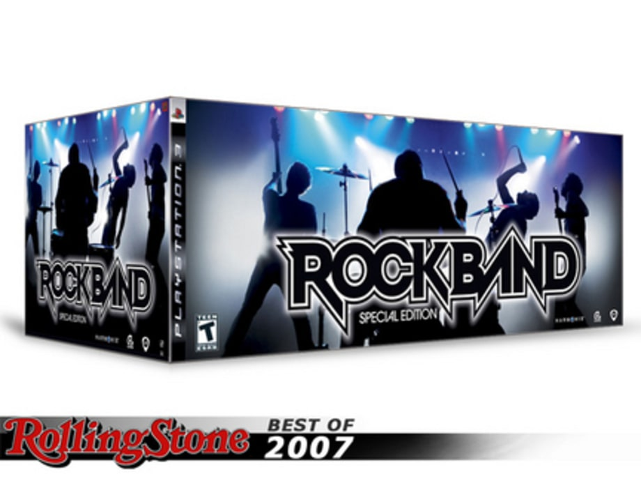 BEST TECH GADGETS OF 2007: Rock Band Special Edition