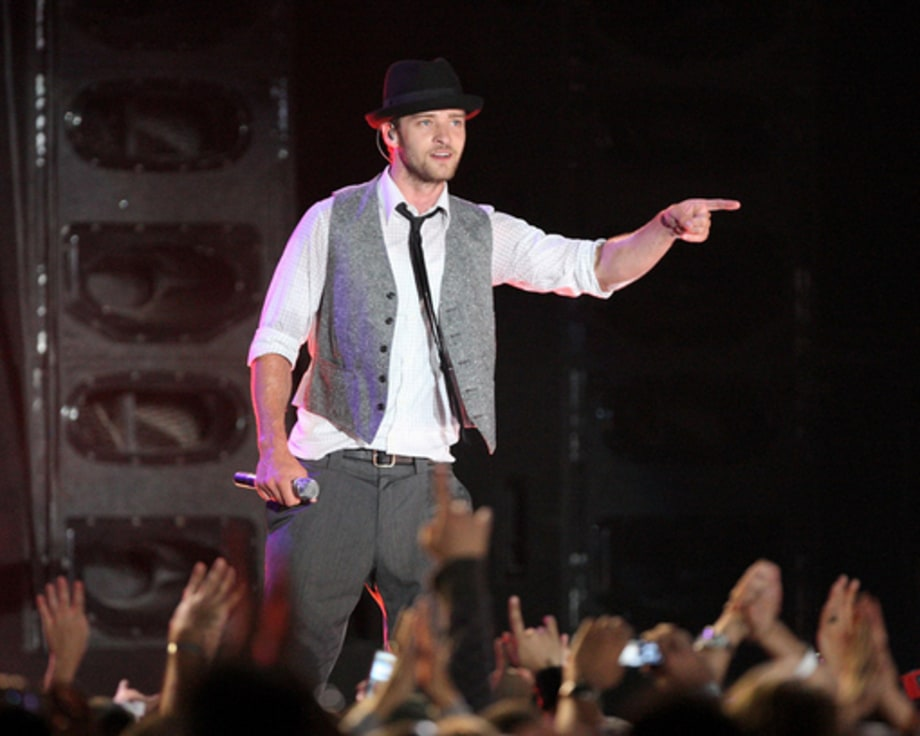 Random Notes: December 7, 2007: Justin Timberlake