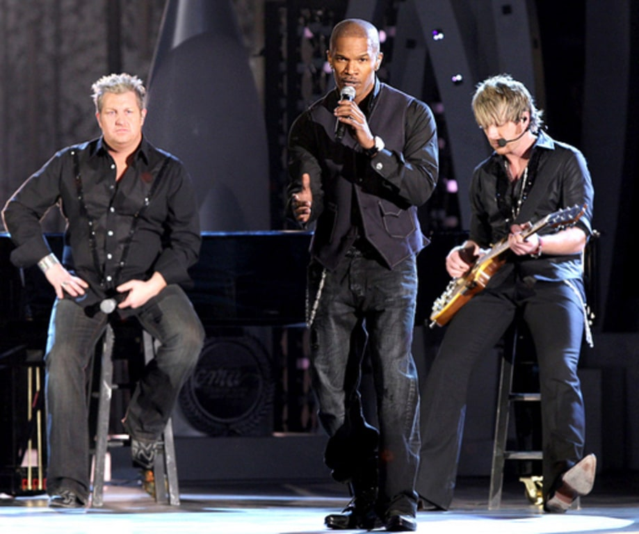 RANDOM NOTES: November 9, 2007: Jamie Foxx and the Rascal Flatts