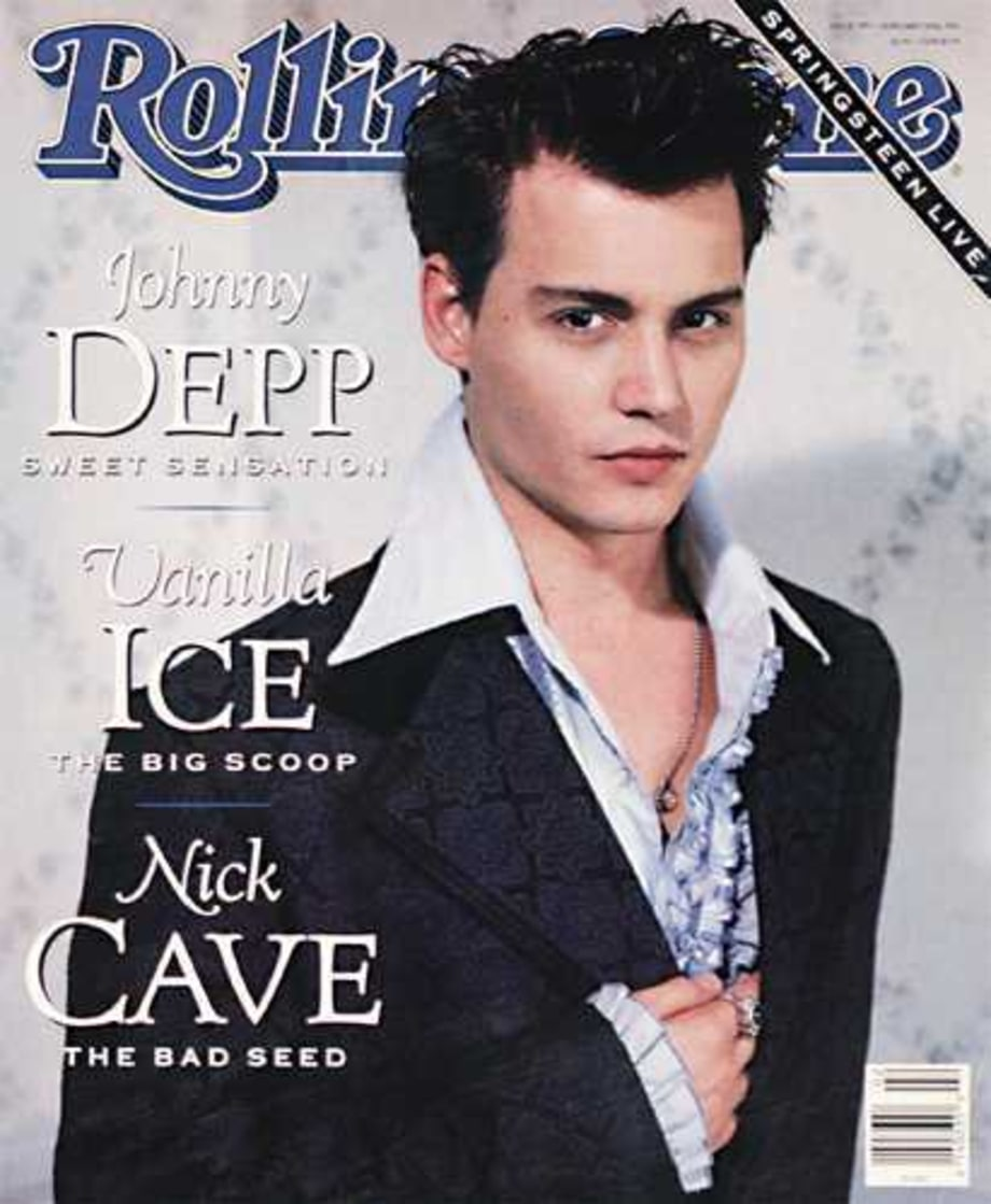 Johnny Depp: 1991 Rolling Stone Cover