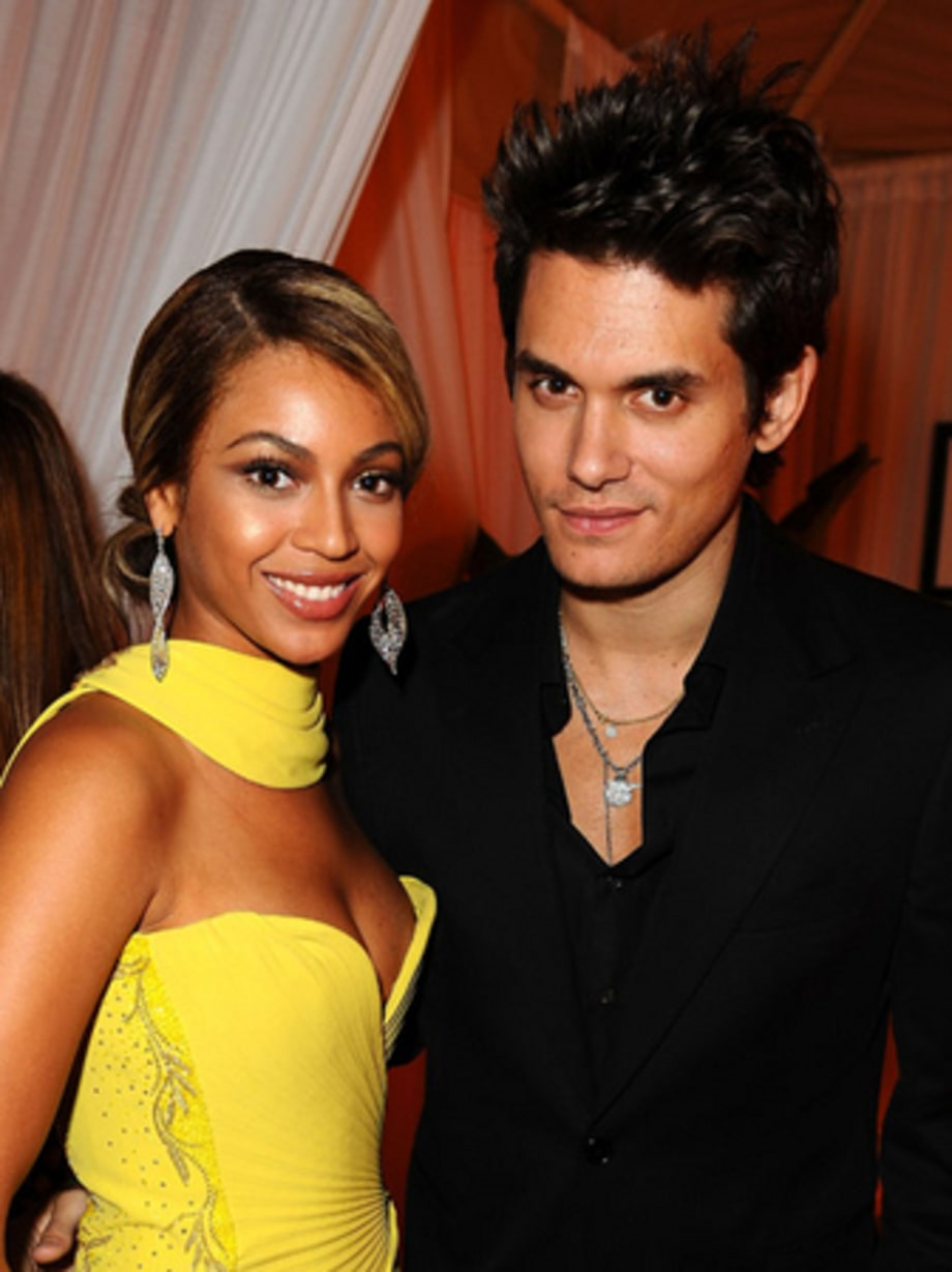 GRAMMY PARTIES 2008: Beyonce and Mayer
