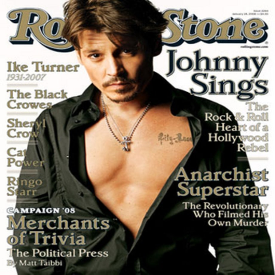 Rolling Stone Cover: 1044 : Johnny Depp