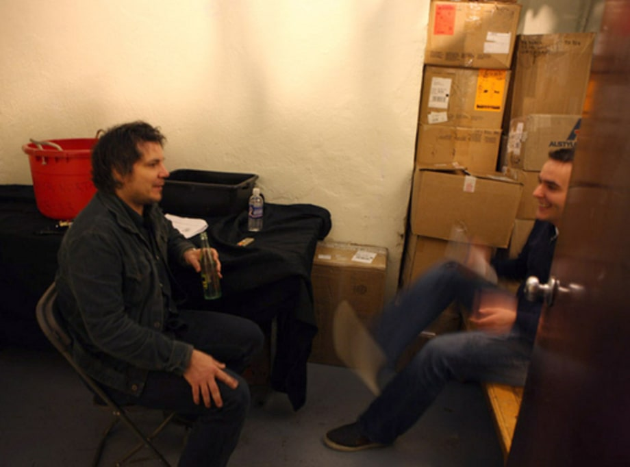 ON THE ROAD: Wilco: BAckstage 1 - interview