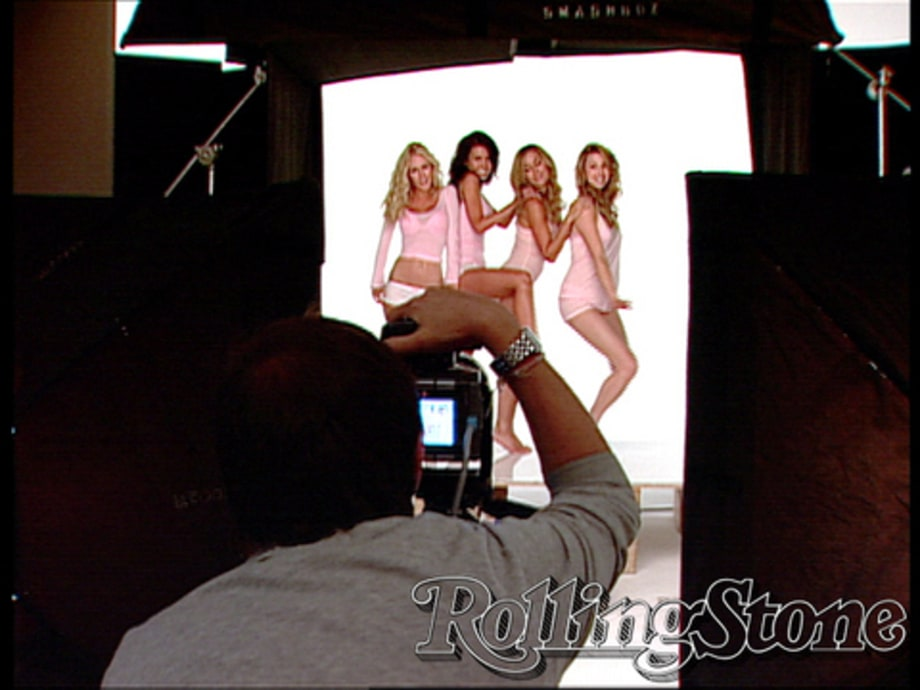 The Hills Cover Shoot: behind camera