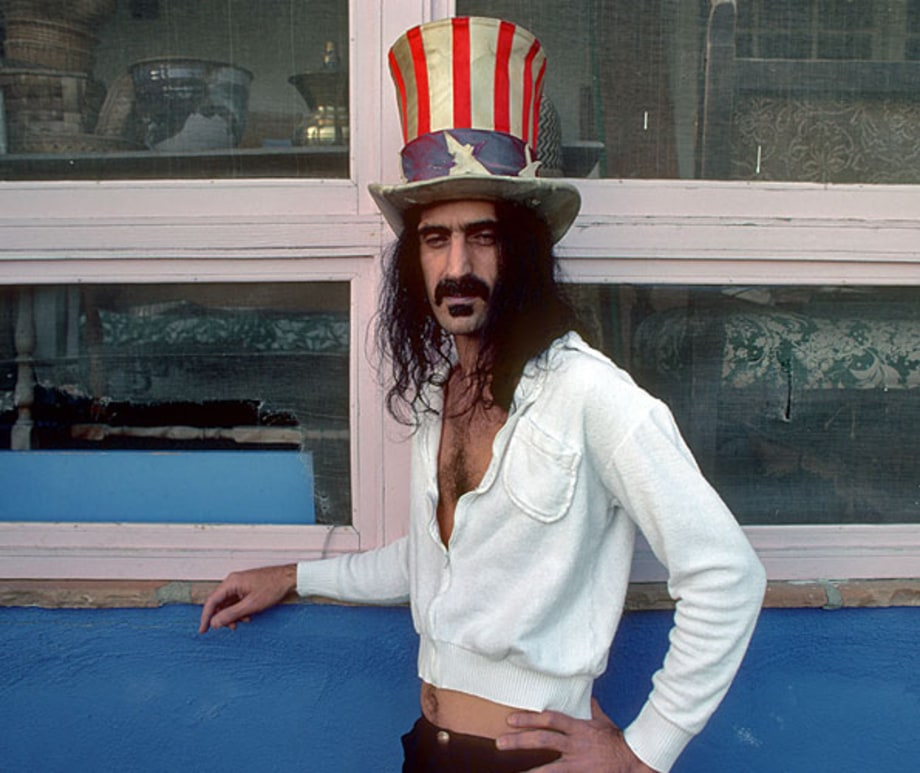 frank zappa rocking the stars and stripes rolling stone