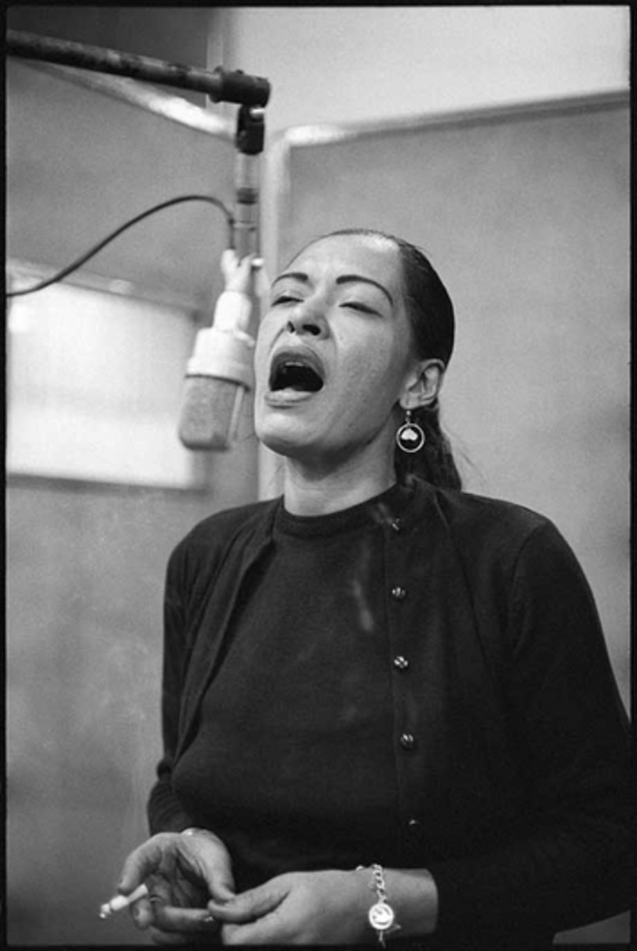 Columbia Records 30th Street Studio: Billie Holliday 1957
