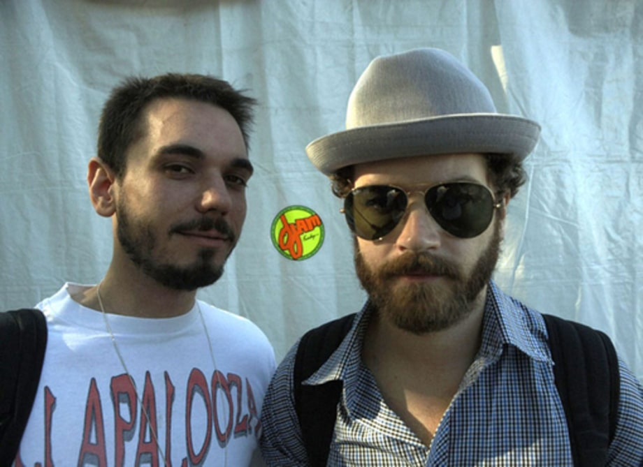 Lollapalooza 2008: DJ AM and Danny Masterson