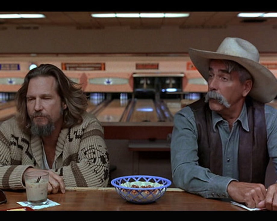 LEBOWSKI: Sam Elliott at the Bar