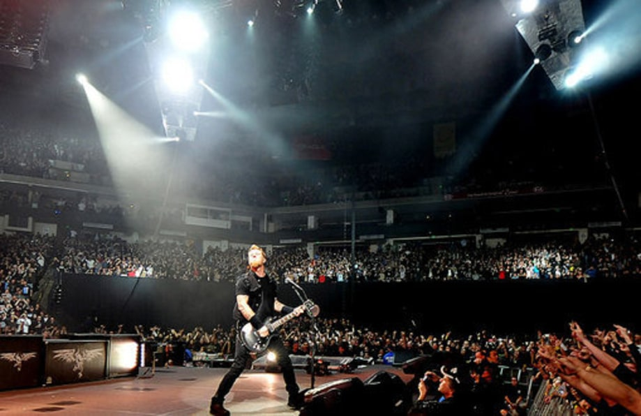 2008: Onstage at Oracle Arena