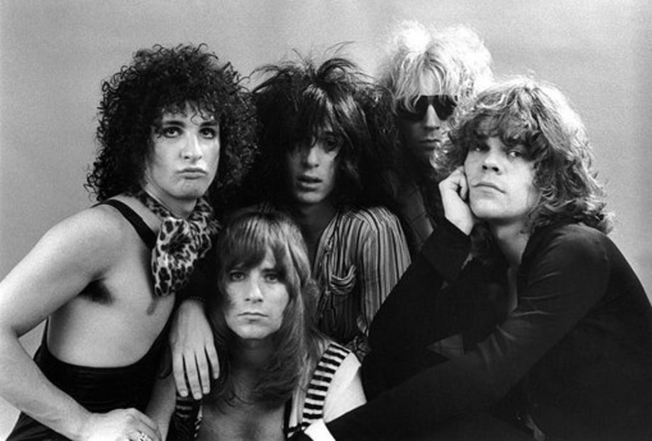 New York Dolls: Black and White Malcolm McLauren Quote.