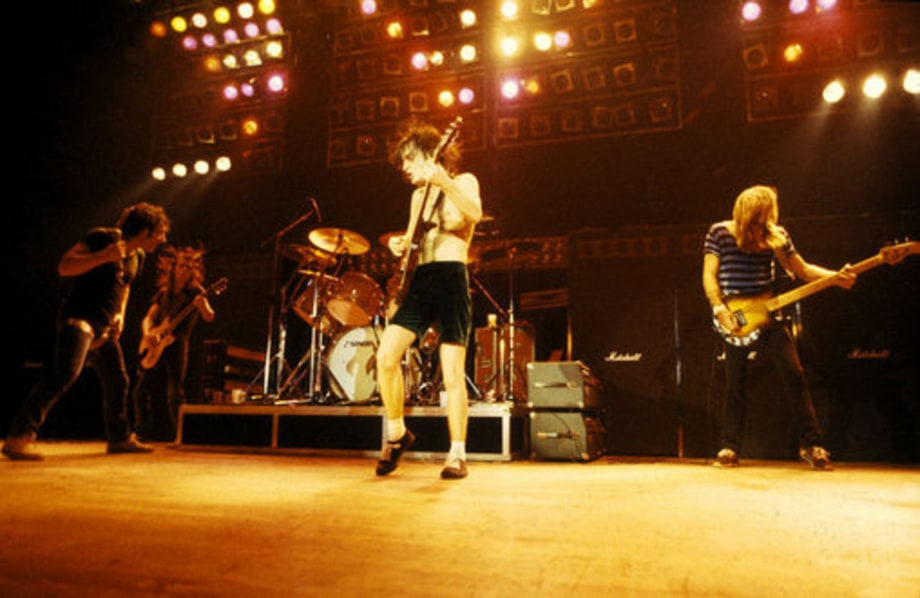 Ac Dc Timeline 1976 Performing Ac Dc Four Decades Of