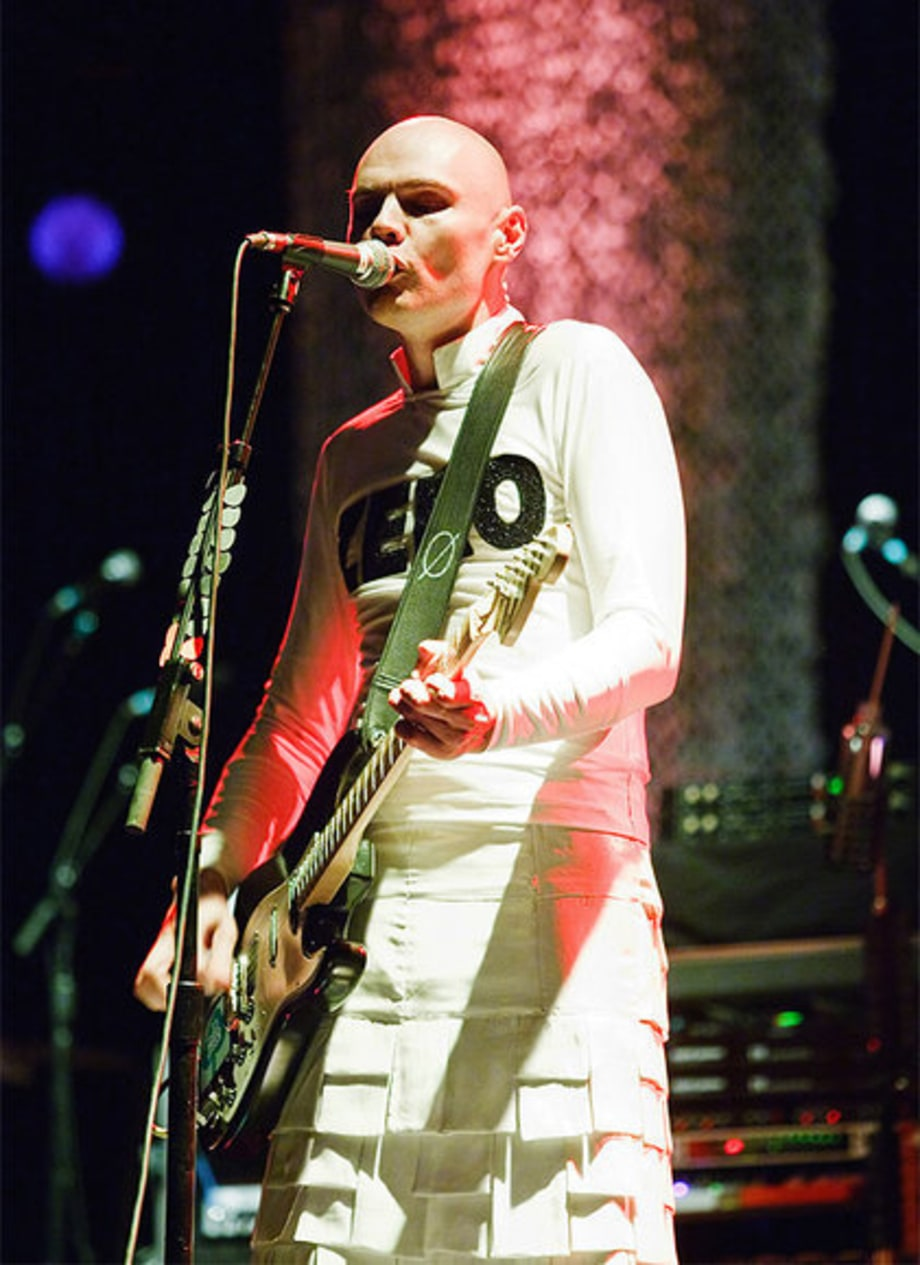 Smashing Pumpkins Anniversary Tour: Billy Corgan Performing