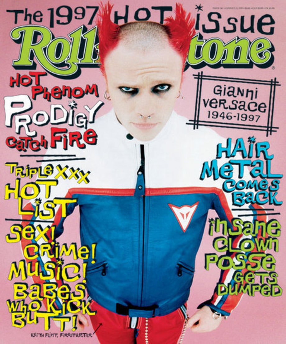 HOT ISSUE COVERS: 767: The Prodigy's Keith Flint