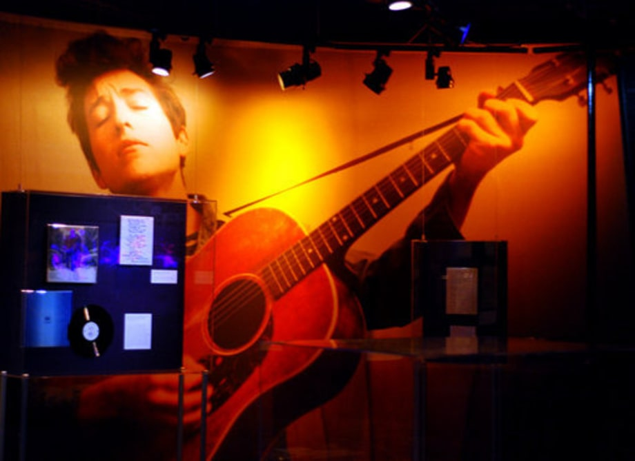 Bob Dylan Display