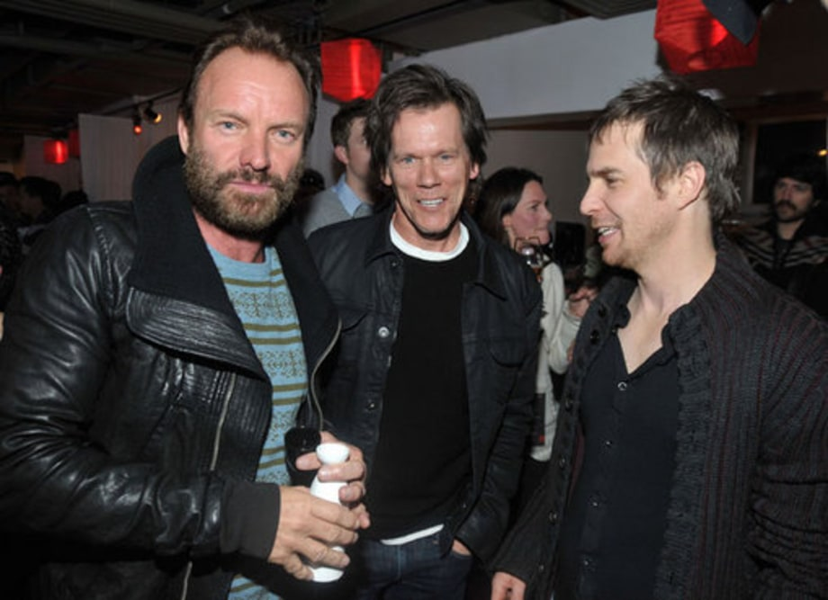 Sundance 2009: Sting, Kevin Bacon, and Sam Rockwell