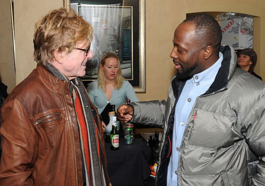 Sundance 2009: Wyclef with Redford
