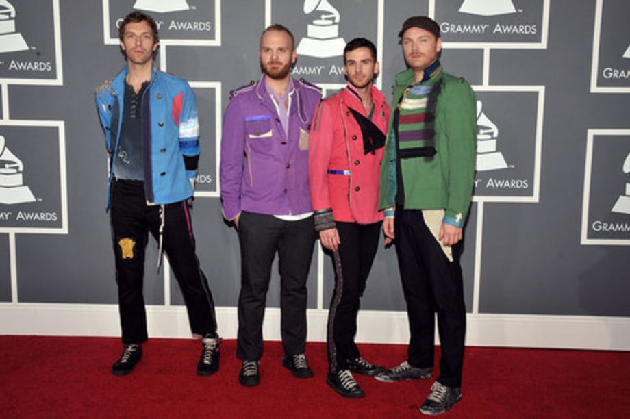 Grammy Awards 2009: Arrival: coldplay