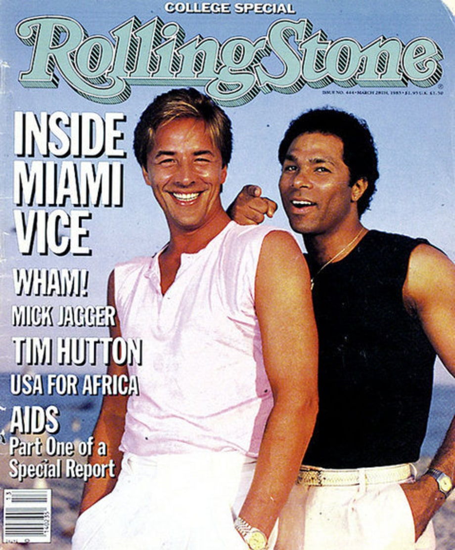 Don Johnson & Phillip Michael Thomas of 'Miami Vice'