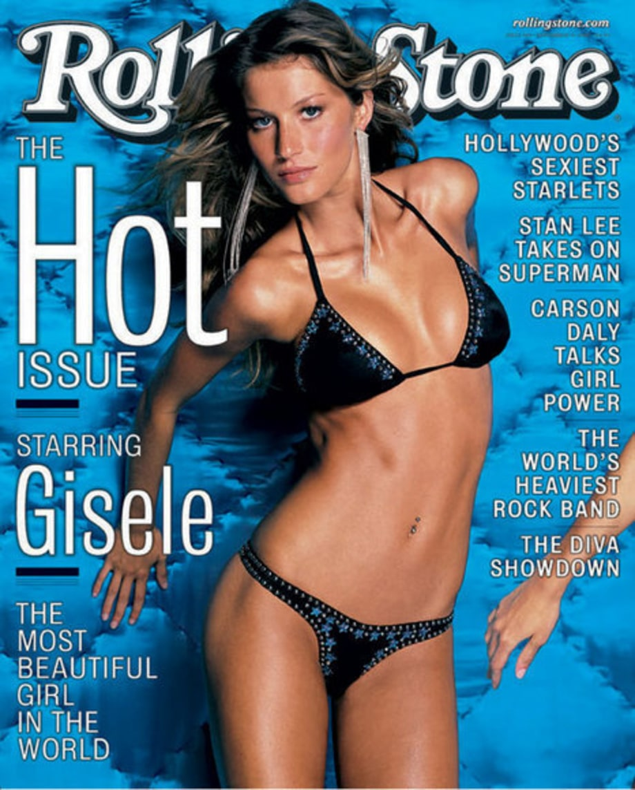 HOT ISSUE COVERS: 849: Gisele  Bundchen
