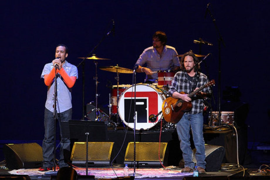 Change Begins Within: Ben Harper and Eddie Vedder
